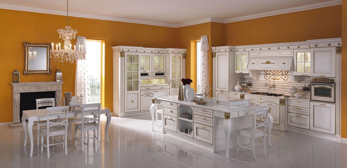 Cucine country chic provenzale classico cucine - Cucine classiche aran ...