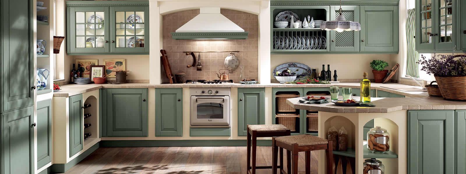 Cucine country chic provenzale classico cucine - Cucine country immagini ...