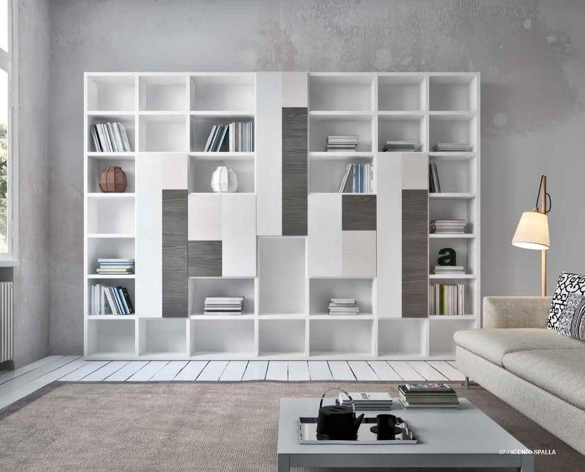Pareti attrezzate e librerie prodotti for Librerie pareti attrezzate