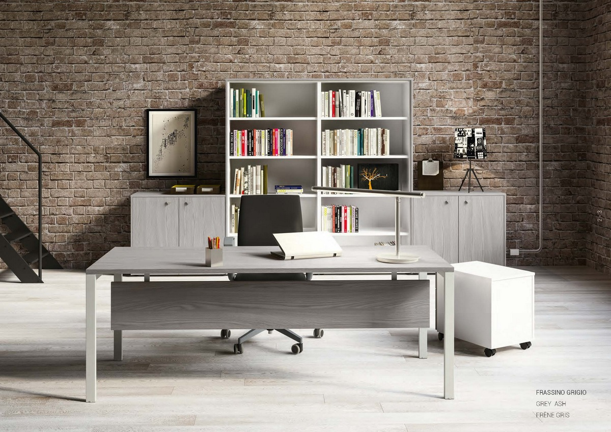 Arredo Ufficio Grigio : Arredamento ufficio moderno foto design mag